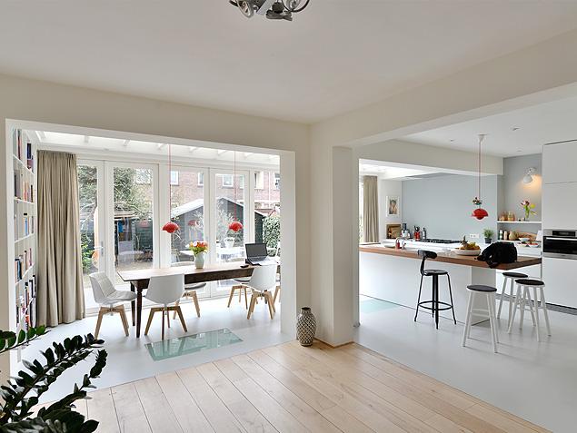 Prefab Aanbouw Keuken : Lemstra Architects & Bloem