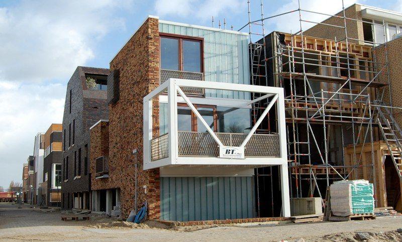 Leuk Driehoekig Balkon : Balkon