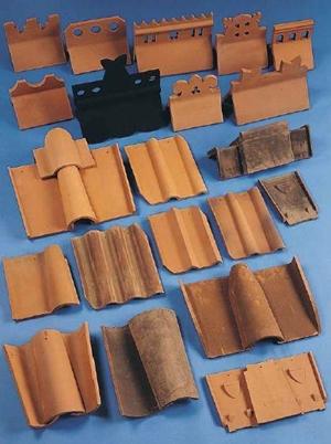 Soorten oude dakpannen