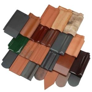 Dakpan voorbeelden for Koramic tuile