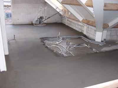 Dekvloer constructievloer draagvloer drager ondergrond