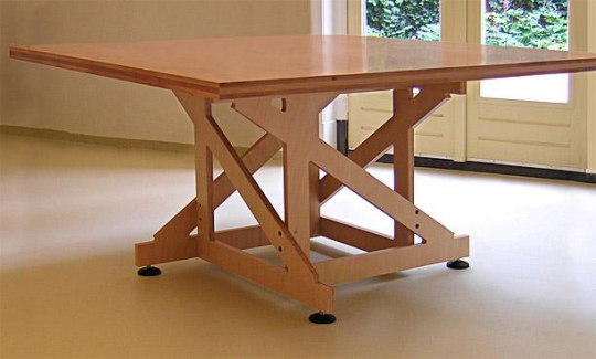 Diktekant - Ruimte model kamer houten ...