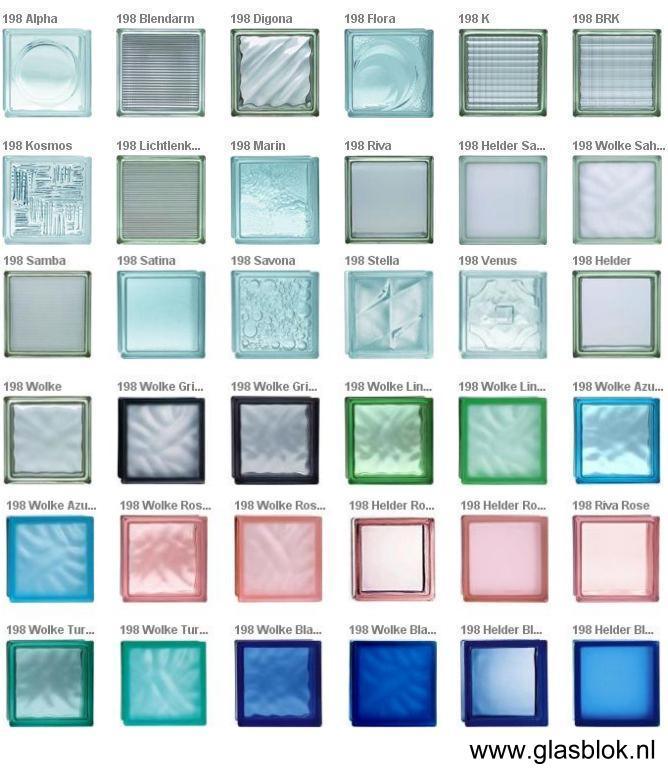 glazen bouwsteen, glasblok, bouwglas, glassteen, glasbouwsteen ...