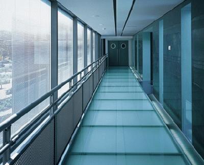 Glazen vloeren