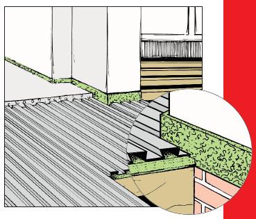 Lewis zwaluwstaartplaten vloerverwarming
