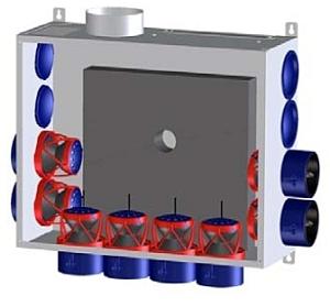 Afvoer mechanische ventilatie
