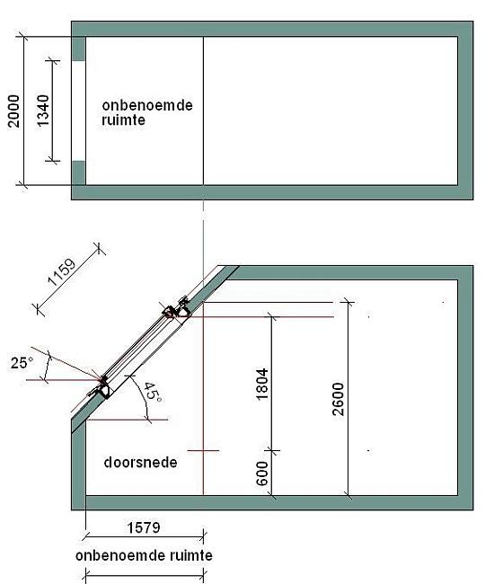 Onbenoemde ruimte for Traphoogte berekenen