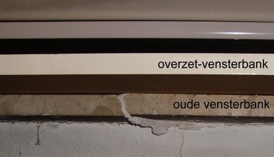 Overzet Vensterbank