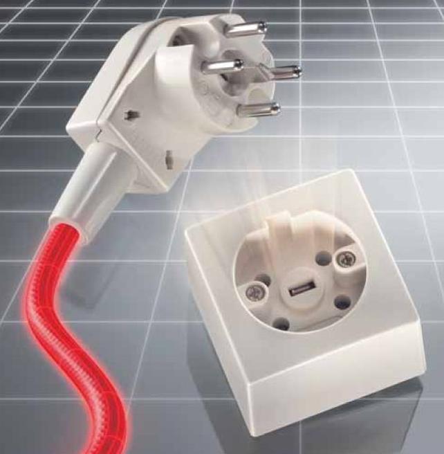 Keuken Stopcontact Inbouw : Perilex Stekker
