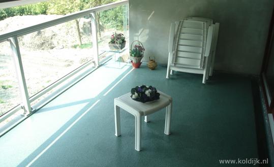 Vloer Voor Balkon : Pmma vloer vloeistofdichte vloer