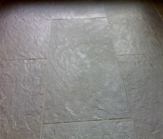 Pvc vloeren tegels bankstellen 2017 for Tegel pvc imitatie tegel cement