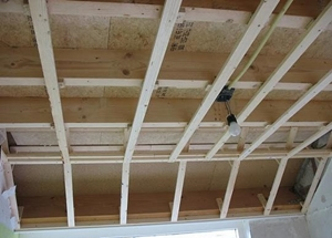 Houten rachels plafond