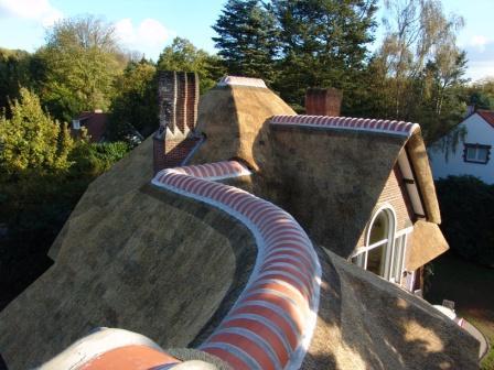 nokvorsten voor rieten dak