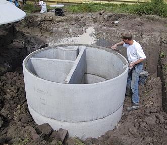 Septic tank werking