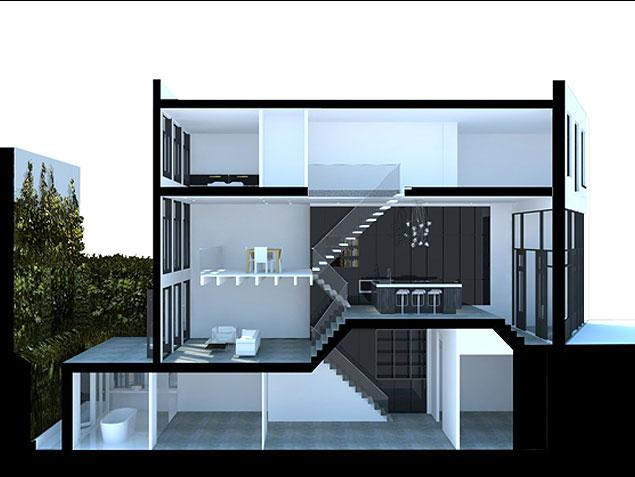Keuken In Souterrain : Souterrain