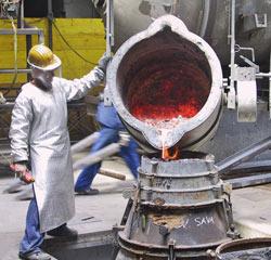 staal, hard ijzer, productie van staal