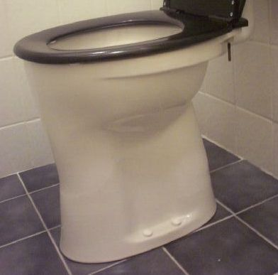 Wc pot inbouw