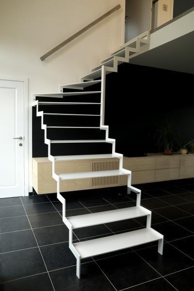 trap voorbeelden On trap staal