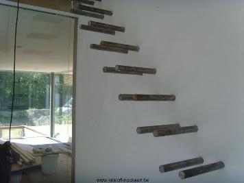 Zwevende trap - Ontwerp betonnen trap ...