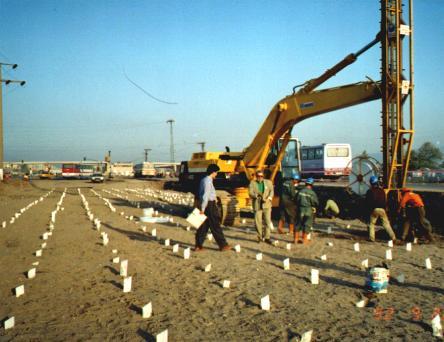 Genoeg verticale drainage, vertical drains LU08
