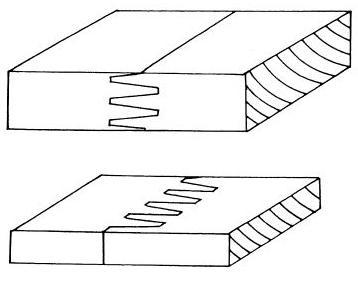 Gevingerlast hout