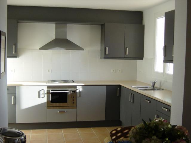 Grijze Keuken Met Zwart Blad : Zie bijvoorbeeld Moviq voor meer informatie over keukenbladen.